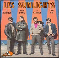 LES SUNLIGHTS LES DESERTEUR / BORIS VIAN 45T EP BIEM AZ 1034 QUASI NEUF