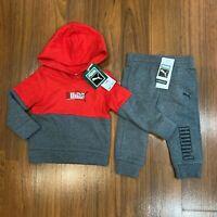 Puma Baby Toddler Boy's Tracksuit Hoodie Pants Set Size 12M, 18M, 24M NEW