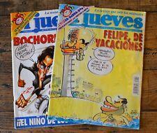 2 x El Jueves Spanish Magazine Issues 857 & 897 1993-1994