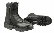 "Original Swat 115201 Men's Black Classic 9"" Side-Zip Leather Boot - Size 10.5"