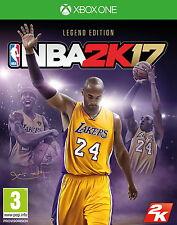 NBA 2K17 - Legend Edition (Microsoft Xbox One, 2016)  (me14)