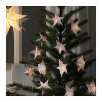NEW IKEA HOLIDAY CHRISTMAS STAR STRÅLA DECORATION FOR LIGHT CHAIN
