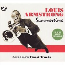 NEW - Summertime- Satchmo's Finest Tracks by Louis Armstrong