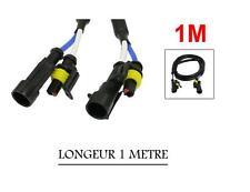 1 RALLONGE POUR AMPOULES DE KIT XENON - LONGEUR 1 METRE
