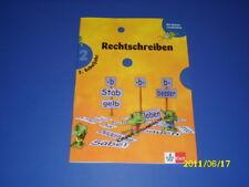 Die kleinen Lerndrachen, Deutsch 2 Klasse Rechtschreiben Grundschule Übungsheft