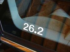 """26.2 Marathon Decal Sticker Runner Run *New Design 3"""""""