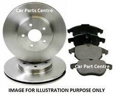 FOR DODGE JOURNEY REAR BRAKE DISC DISCS PAD PADS SET KIT 2.0 CRD 2.4 2008-2012