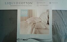 LIZ CLAIBORNE FULL LIQUID COTTON SHEET SET BUTTERY SOFT/PIMA COTTON -- NEW