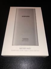 Samsung USB-C Fast Charge Portable Battery Pack Bank Charger 10000 mAh 2 USB