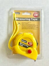 US Steel Metric Measuring Tape Magnetic Survey Measure Tool Retractable Ruler 3M