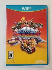 ☆ SKYLANDERS SUPERCHARGERS GAME W/ CASE ☆ Wii U ☆ FAST FREE SHIPPING ☆ (2015)