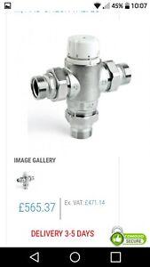 "Intamix pro thermostatic valve stain 1/2"" RRP 565"
