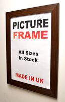 Mahogany Picture frame 30mm wide All Sizes in Inches | Picture Photo frames U.K.