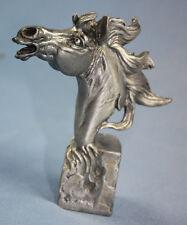 Pferdekopf Pferd figur metall superschön