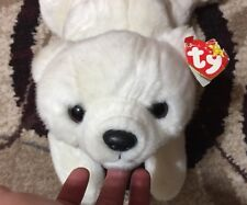 Ty Beanie Buddies Collection White Polar Bear 1998 Chilly 14""
