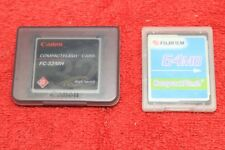 CANON 32MB FC-32MH High Speed CF Memory Card FUJIFILM 64 MB Compact Flash