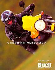 1999 BUELL MOTORCYCLE BROCHURE -LIGHTNING-THUNDERBOLT-CYCLONE-BUELL
