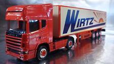 ** Herpa 451024 Scania TL Box Semitrailer Wirtz 1:87 H0 Scale