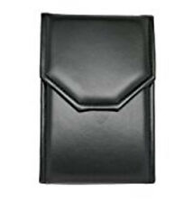 Black Leatherette Jewelry Folder for Pearl, Necklace