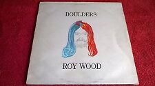 ROY WOOD ( EX. ELECTRIC LIGHT ORCHESTRA ) - BOULDERS .     LP.