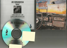 JOE BONAMASSA Drive w/ RARE RADIO EDIT  2016  PROMO DJ CD Single w/ TOUR DATES