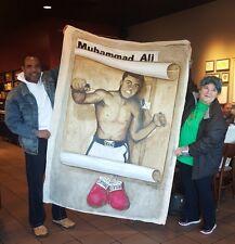 "Six feet by Four feet Original ""Acrylics"" Muhammad Ali painting on canvas!"