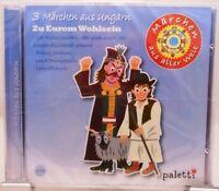 Märchen aus aller Welt + CD + 3 Geschichten aus Ungarn + Hörbuch für Kinder ab 5