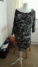 """Ladies """"River Island"""" Leopard Print Tunic Dress (Size S/M)"""