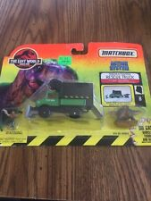 Jurassic Park Lost World Action System Tracker Trapper Rescue Truck w/ Van Owen