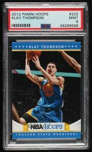 2012-13 NBA Hoops Klay Thompson #232 PSA 9 MINT Rookie