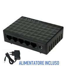 Switch ethernet 10/100/1000 Switch ethernet migliore Switch ethernet 5 porte LAN