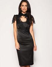 Karen Millen Women's Halter Neck Satin Dresses