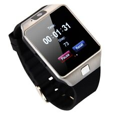 Bluetooth Smart Watch DZ09 Phone cámara SIM ranura para iOS teléfonos Android