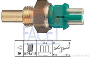 FACET Coolant Temperature Sensor For MERCEDES-BENZ 124 SERIES 7.3140