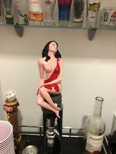 Red Sexy Lady Beer Tap Handle for Bud Light, Miller Lite, Coors