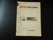 Original Service Manual Schaltplan  Akai GX-R66