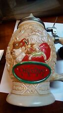 Avon Father Christmas 1994 Santa Claus Stein numbered 127548