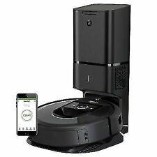 iRobot Roomba i7+ (7550) Black Robot Vacuum Cleaner (I755020)