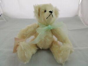 "Teddy Bear and Other Good Things Shirley Seals Mohair Teddy Bear 11.5"""