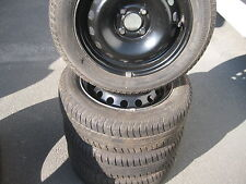 Satz Som-Reifen auf Stahlfelgen Renault Kango/Megane 14 Zoll