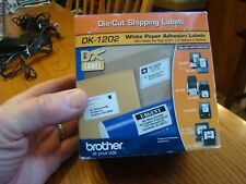 Brother DK1202 White Shipping Labels for QL Label Printer Genuine Fast Ship