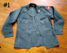 Og-107 cotton sateen utility utilities shirt army officer 108th Division Lot