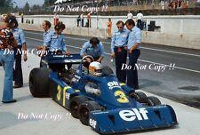JODY SCHECKTER ELF Tyrell P34 British Grand Prix 1976 fotografia 4