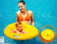 FLOATING BABY SEAT,BABY POOL FLOAT,WITH DIAPER STYLE SEAT,& HEADREST,AGE 0-1,NEW