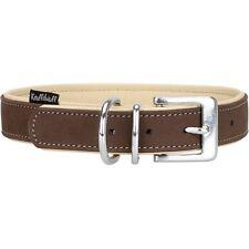 Knuffelwuff Hundehalsband Nubuk Lederhalsband Halsband 28-36 Cm Halsumfang K35