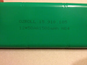 Genuine Ozroll Battery.Suits Smart Drive/ODS Control10 units for Roller Shutters