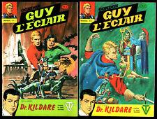 LOT GUY L'ECLAIR n°1-2 # DR KILDARE # 1979 REMPARTS # FLASH GORDON