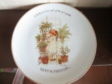 """# Holly Hobbie Happy Mother's Day Collector Plate Porcelain 10 1/2"""" Comm Ed"""
