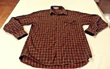 MONDO DI MARCO SHIRT LS MENS VTG CASUAL MADE IN ITALY FIRENZE 100% Cotton Green