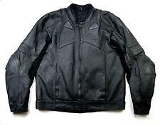 Lewis pro Rider UK Biker motocicleta chaqueta de cuero 56 XL